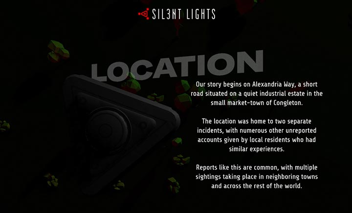 Sil3nt Lights website