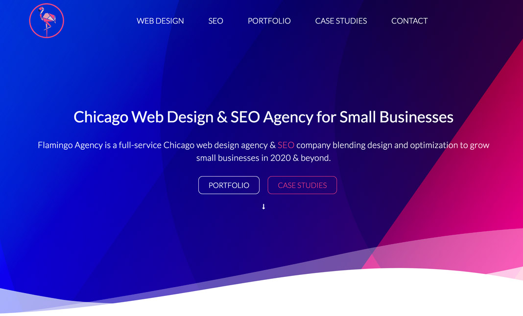 Flamingo Agency website