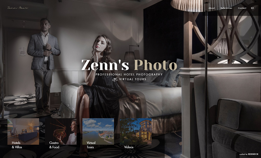 Zenn's Foto website