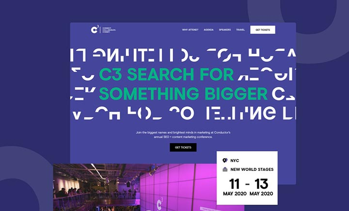 C3 — A Conference by Conductor website