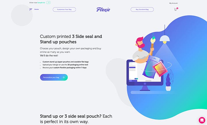 FLEXIE website