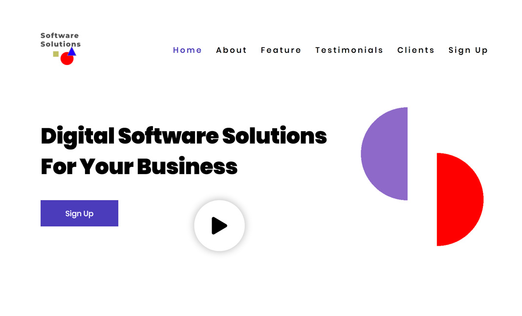 Software website
