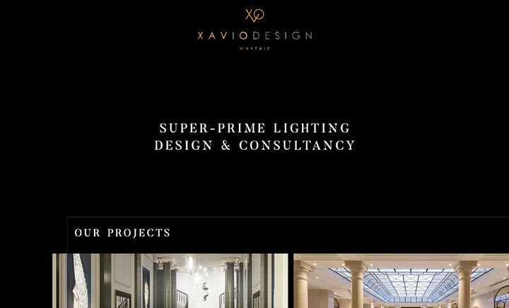Xavio Design website