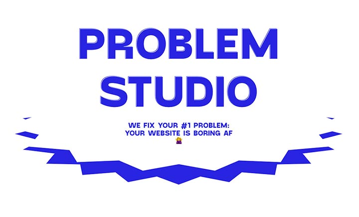 Problem Studio website