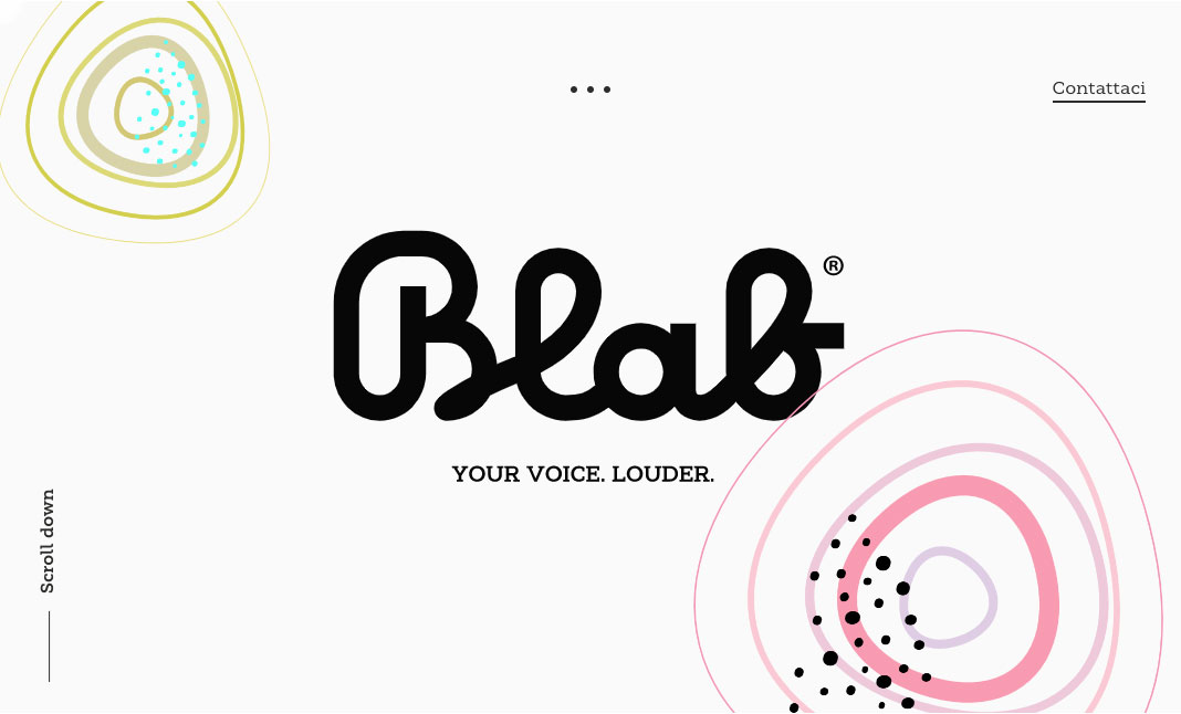 Blab Studio website