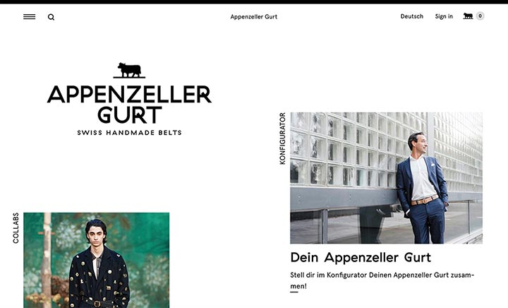 Appenzeller Gurt website
