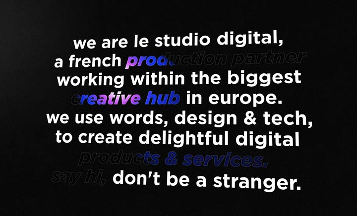 Le Studio Digital