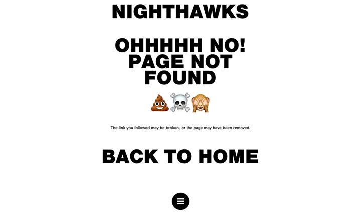 Nighthawks website