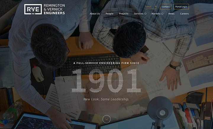 Remington & Vernick Engineers website