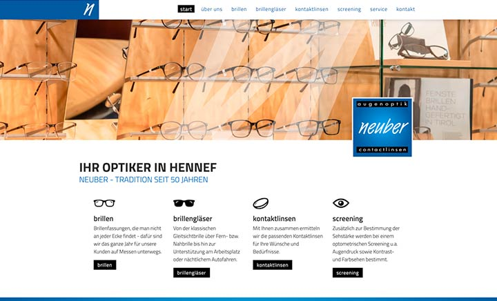Optik Neuber website