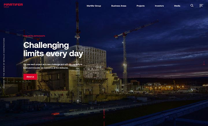 Martifer Group website