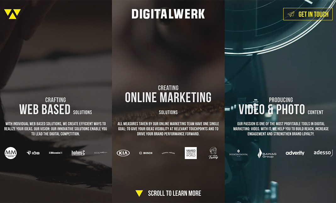 Digitalwerk website