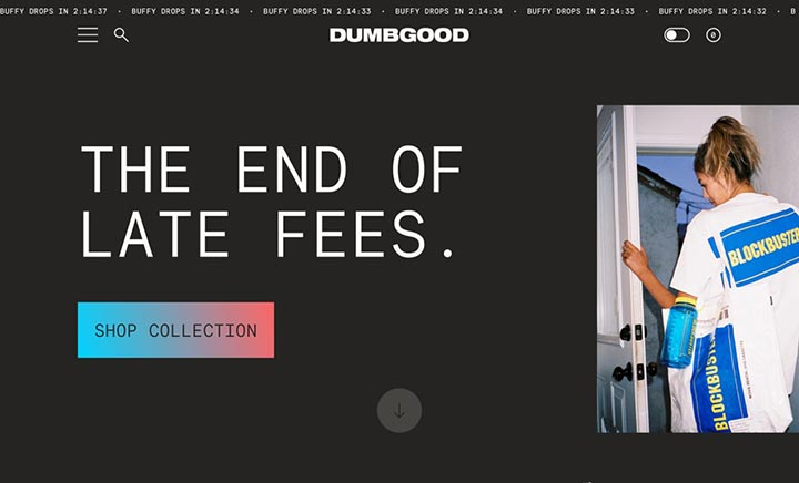 DUMBGOOD website