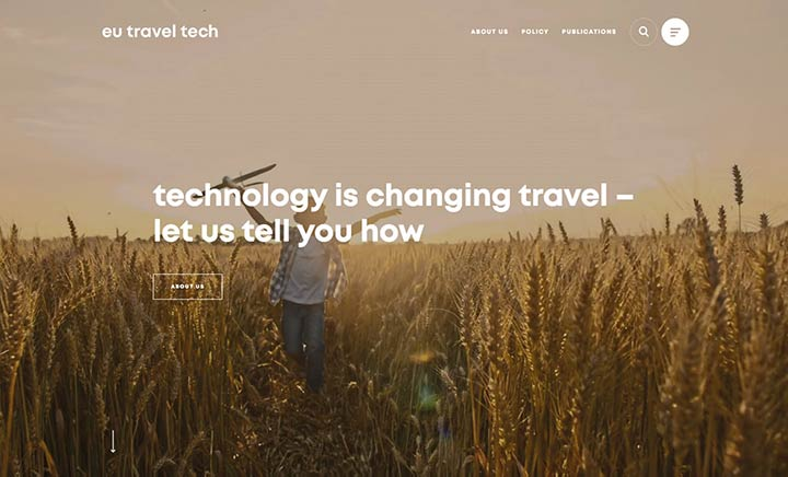 Eu Traveltech website
