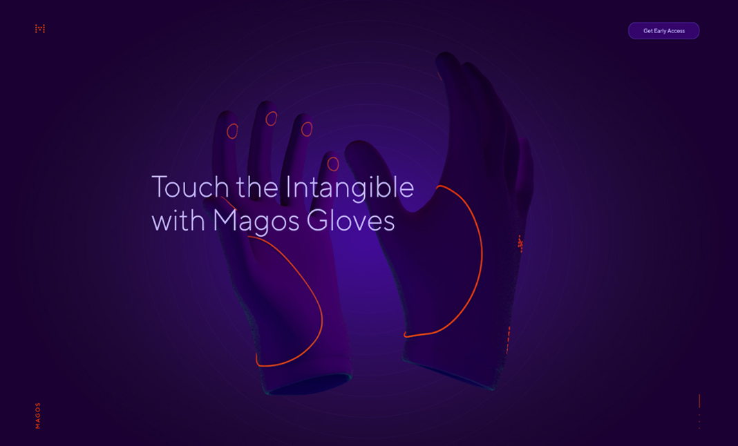 Magos Gloves website