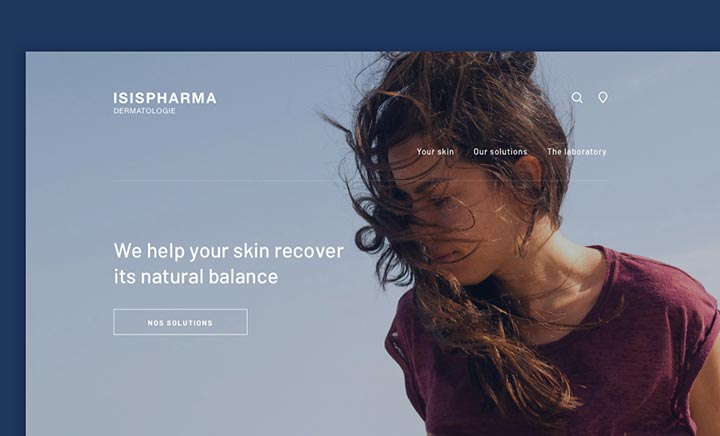 Isispharma website