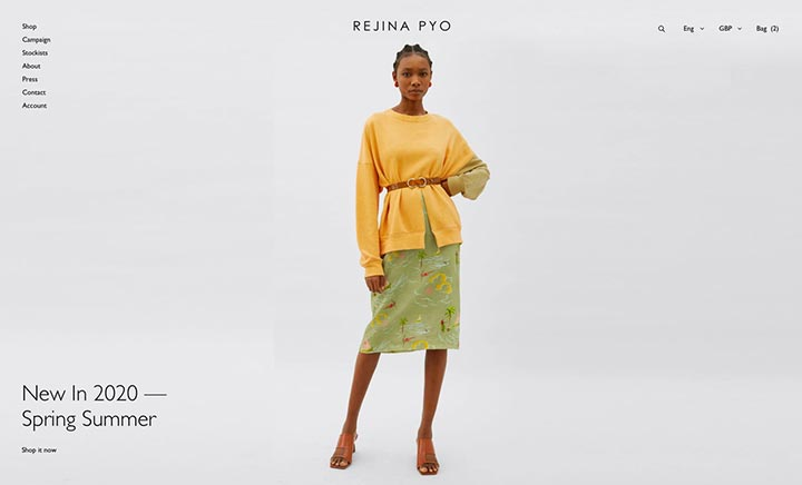 Rejina Pyo website