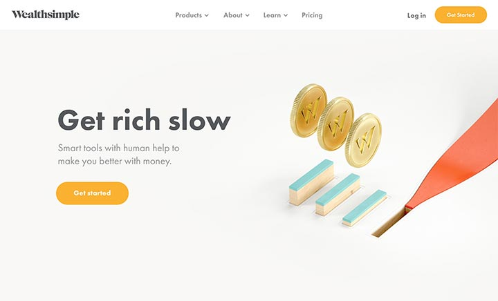 Wealthsimple website