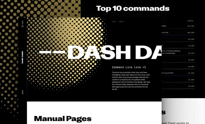 Dash Dash website