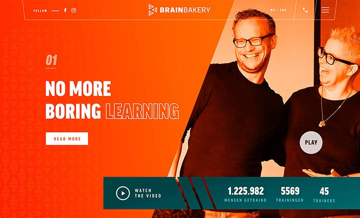 Brain Bakery website