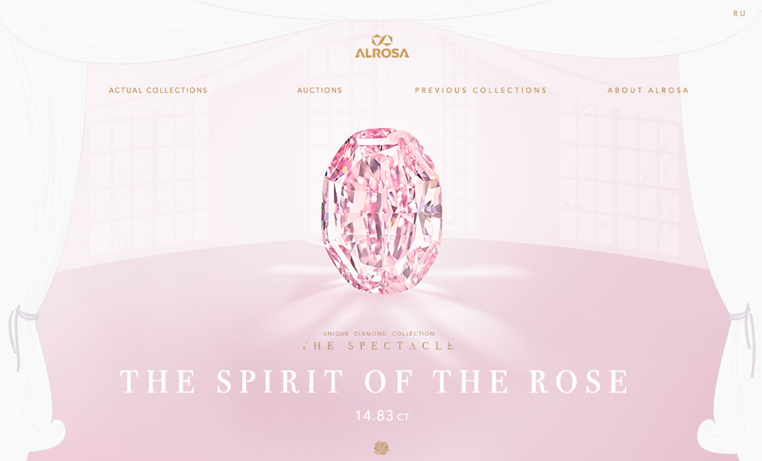 The Spirit of the Rose website