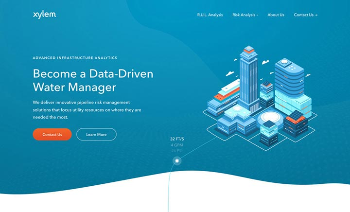 PureAnalytics website