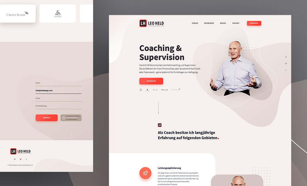 Leo Held - Coaching & Supervision website