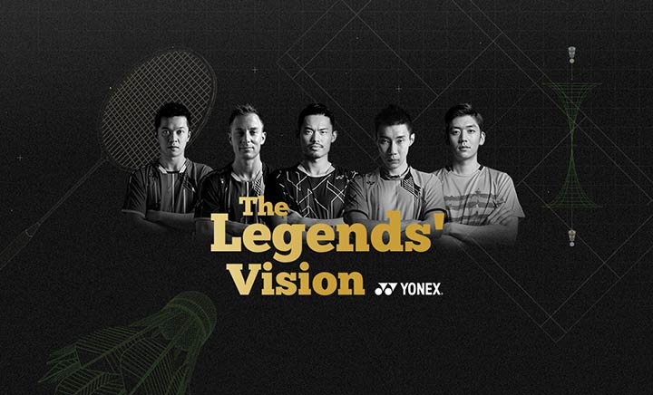 The Legends' Vision website