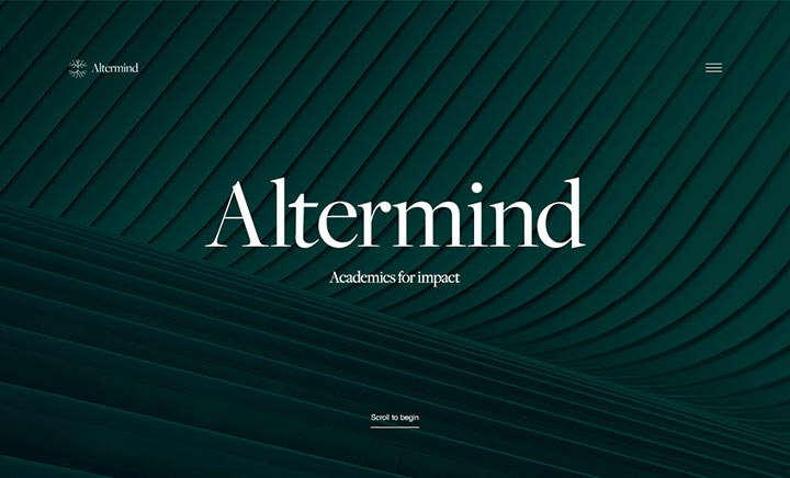 Altermind website