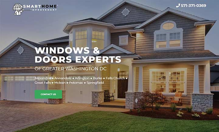 Smart Home Improvement website