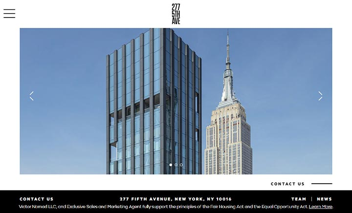 277 Fifth Avenue website