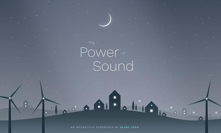 The Power of Sound website