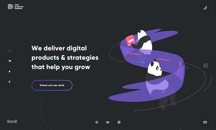 The Digital Panda website
