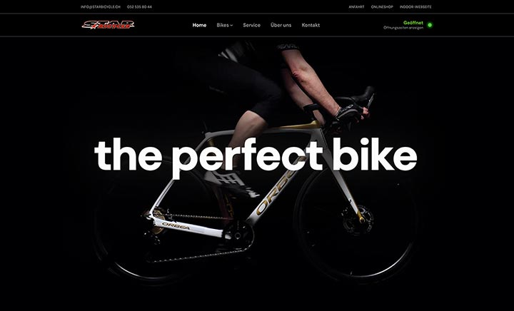 Star Bicycle website