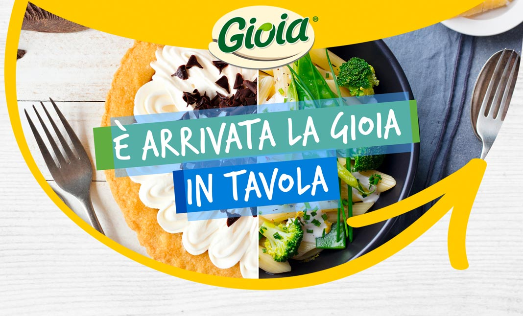 Gioia is on the table website