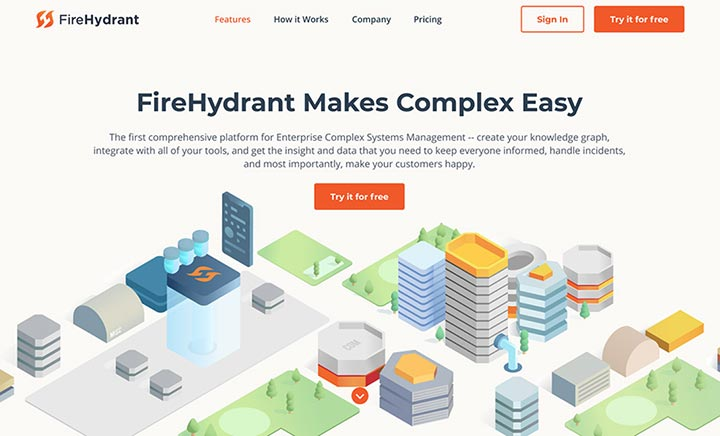 FireHydrant website