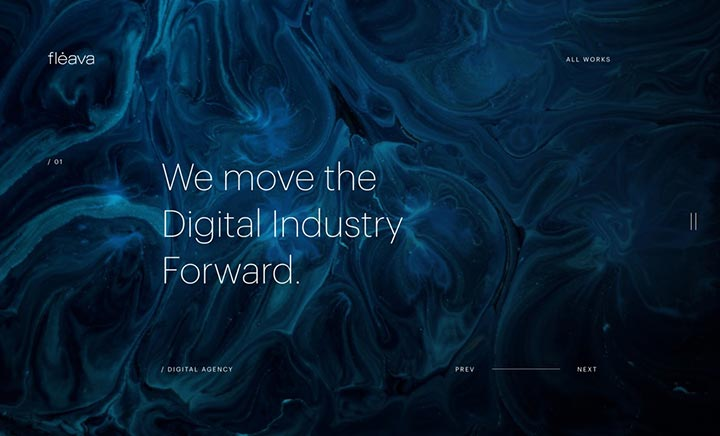 Fleava Digital Agency website