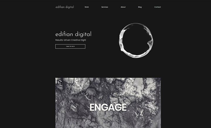 Edifian Digital website