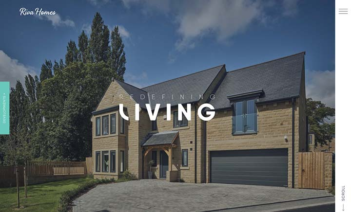 Riva Homes website