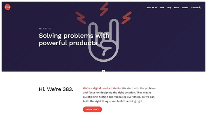 383 Project website