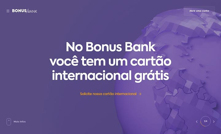BonusBank website