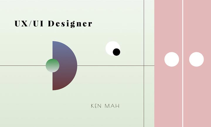Ken Mah - Portfolio website