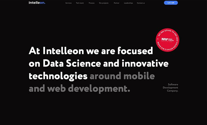 Intelleon | Software development website