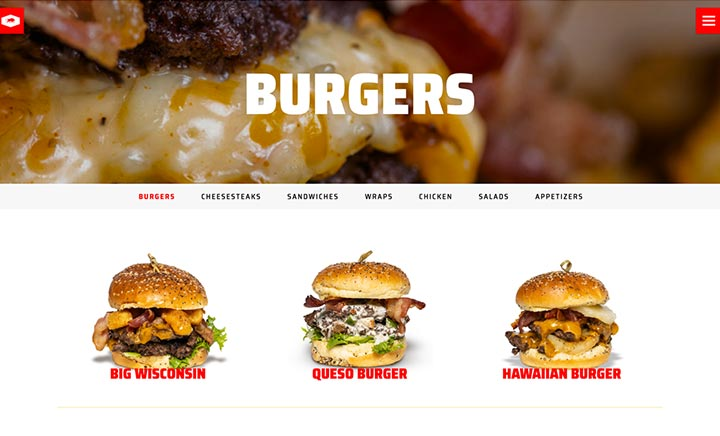 Angus Grill website