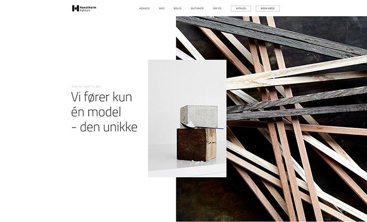 Hanstholm website