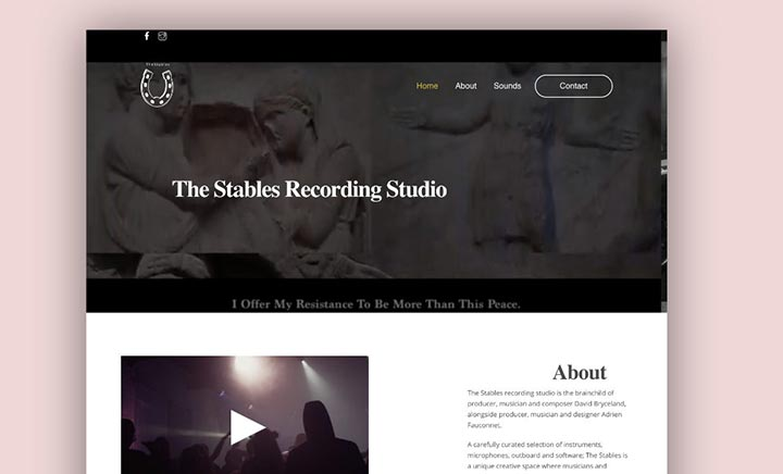 The Stables Recording Studio UK