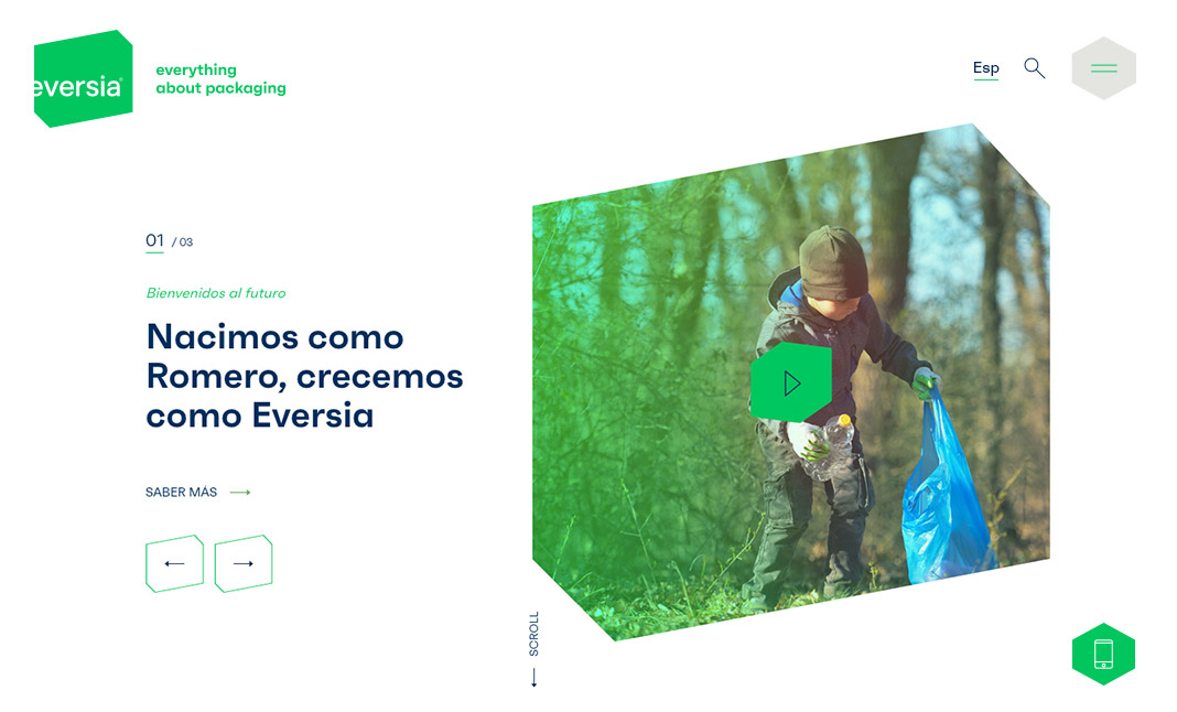 Eversia website