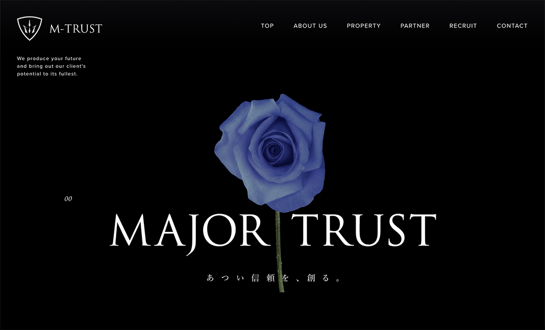 M-trust Co.,Ltd. Corporate website
