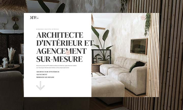 MTG Interieur website