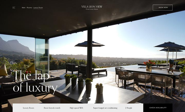 Villa Lion View website